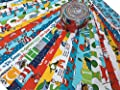DR. SEUSS Jelly Roll 2.5-inch Fabric Quilting Strips Assortment from Robert Kaufman Fabrics