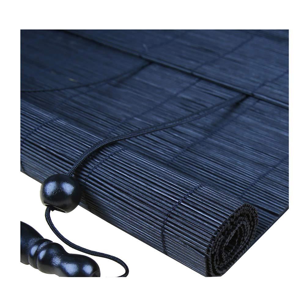 ZEMIN 日焼け止め ウッドブラインド 竹 ローラーブラインド 内部/外部 インストール ブティック 画面 カーテン カスタマイズ可能 ハンドリフティング、 3色、 22サイズ (色 : #1, サイズ さいず : 150x220CM) 150x220CM #1 B07GB86XY6
