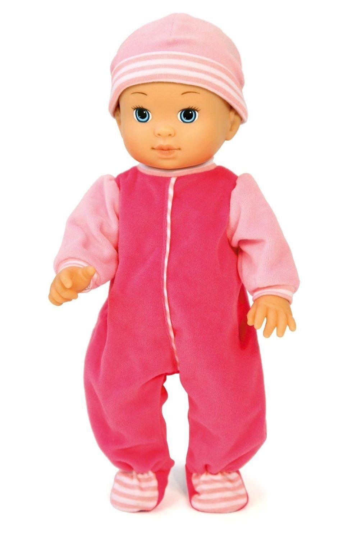 Bayer Design - Bouncy baby, muñeca bebé con función movimiento e 8 sonidos, 36 cm (93720)