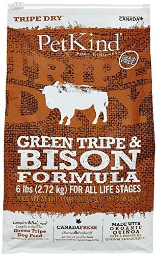 Petkind Green Tripe And Bison Formula 6 ()