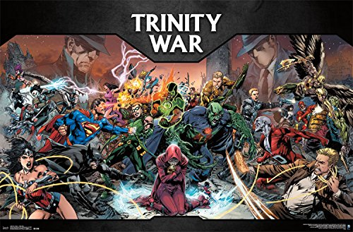 (Trends International DC Comics Trinity War Wall Poster 22.375