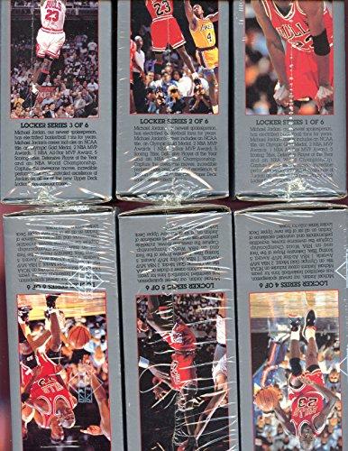 1991-92 Upper Deck Michael Jordan Locker Complete Set Bas...