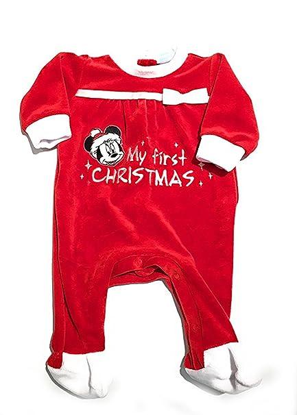 doppio coupon vendita online elegante nello stile Tutina natalizia Minnie - Disney Baby (1 mese): Amazon.it ...