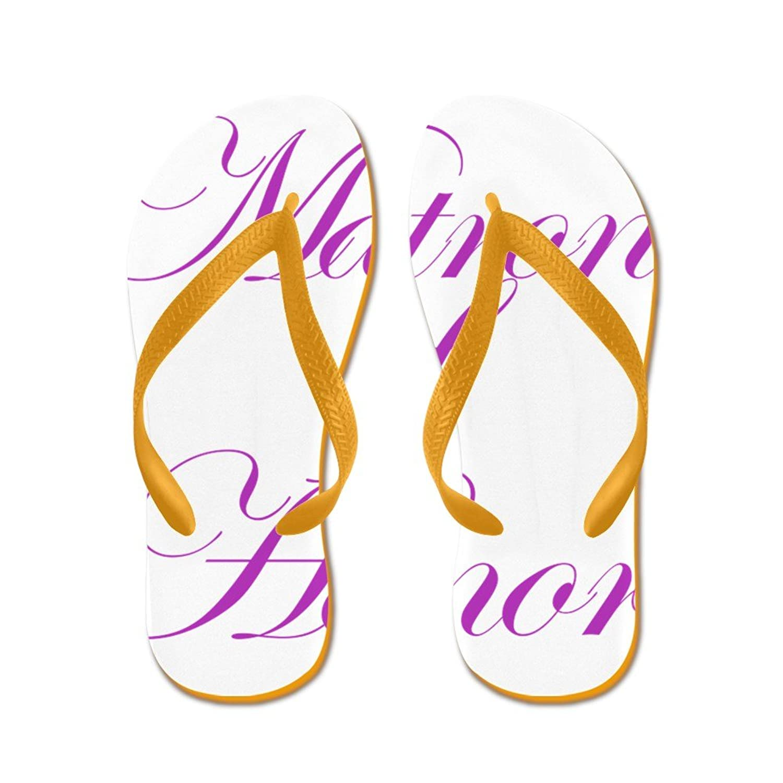 03940f0b4fa4 CafePress Matron Of Honor Fancy - Flip Flops