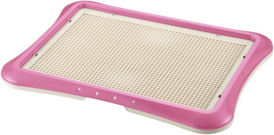 Richell Paw Trax Mesh Training Tray, Pink