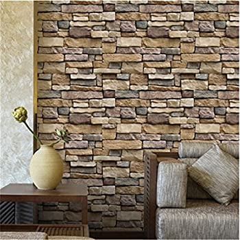 dolland brick design tile stickers kitchen bathroom wall wallpaper home decor1