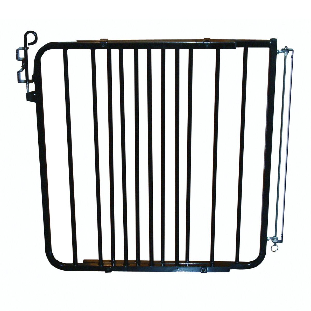 Cardinal Pet Gates Auto-Lock Gate, BLACK