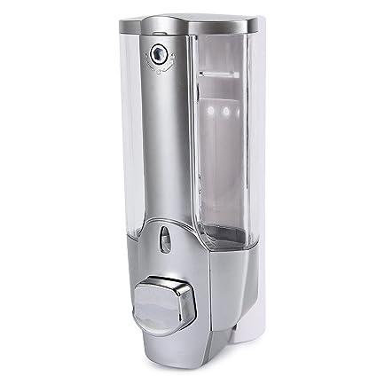 Dispensador de jabón de pared de 350 ml, dispensador de jabón de pared universal de