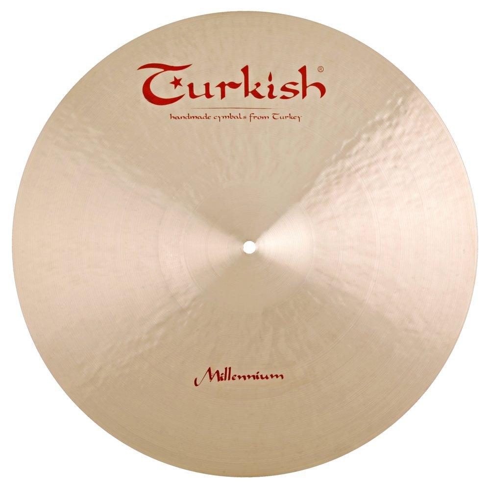 Turkish Cymbals Jazz Series 19-inch Millennium Crash / Ride Cymbal ML-CR19 by Turkish Cymbals
