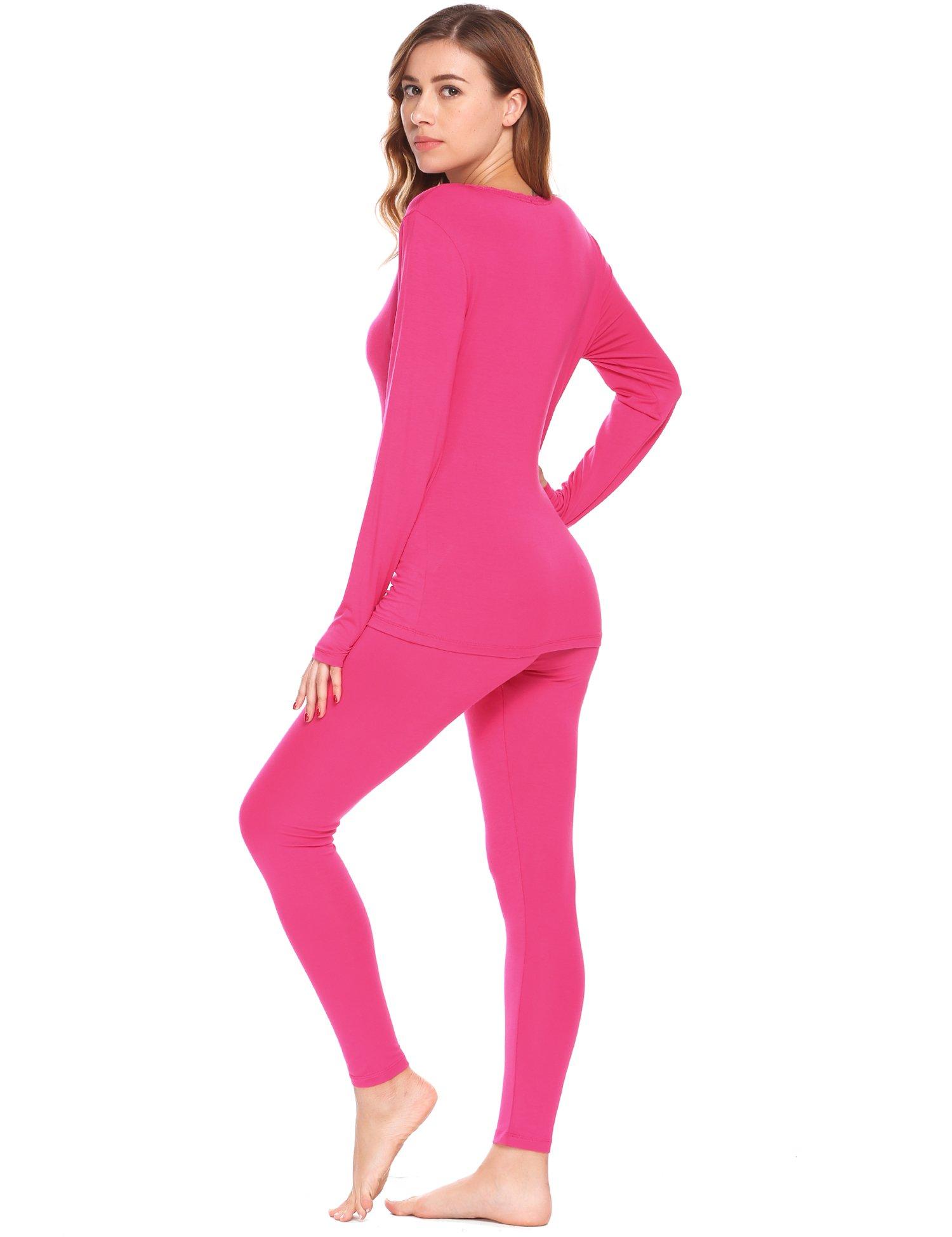 Avidlove Womens Soft Thermal Underwear Set Top & Bottom Long Johns Set PJS