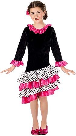 Fun Shack Negra Bailarina De Flamenco Disfraz para Niñas - S ...