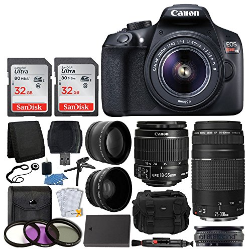 canon-eos-rebel-t6-digital-slr-camera-18-55mm-ef-s-lens-ef-75-300mm-lens-sandisk-64gb-card-telephoto
