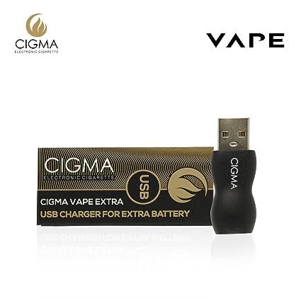 Cigma Vapeador USB para batería extra | Cargador USB | adaptador