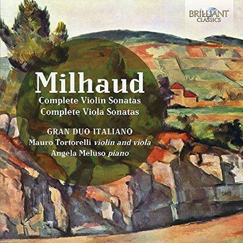 (Darius Milhaud: Complete Violin Sonatas & Complete Viola Sonatas)