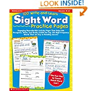 #4: 100 Write-and-Learn Sight Word Practice Pages: Engaging Reproducible Activity Pages That Help Kids Recognize, Write, and Really LEARN the Top 100 High-Frequency Words That are Key to Reading Success