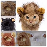 RosyLife Lion Mane Wig for Dog and Cat Costume Larger Image