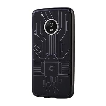 CruzerLite Bugdroid Circuit - Carcasa de TPU para Motorola ...