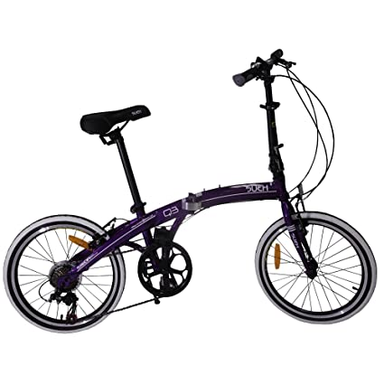 Sueh Q3 Folding Bike 7 Speed 20 Inch Foldable Bicycle