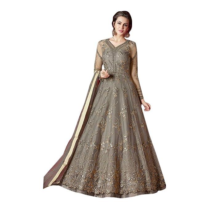 Anarkali Vestido para Mujeres Indio Bollywood Anarkali ...