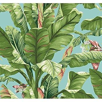 A Street Prints 2744 24136 Alfresco Green Palm Leaf
