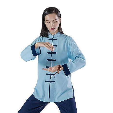 JHDUID Traje de Kung Fu Chino Ropa de Tai Chi Algodón ...