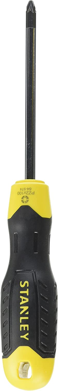 Stanley 0-64-974 Tournevis Cushion Grip Pozidriv PZ 2 x 100 mm