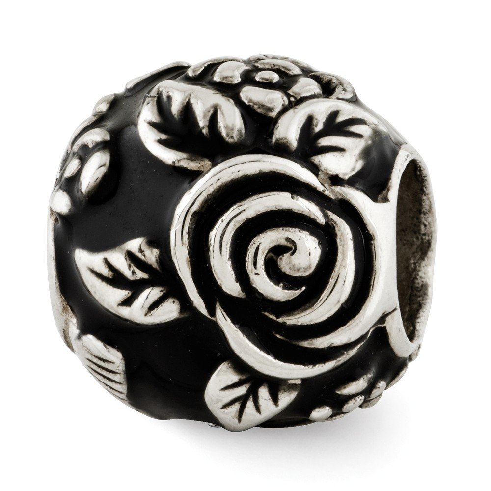 Reflections Sterling Silver Enameled Bali Bead