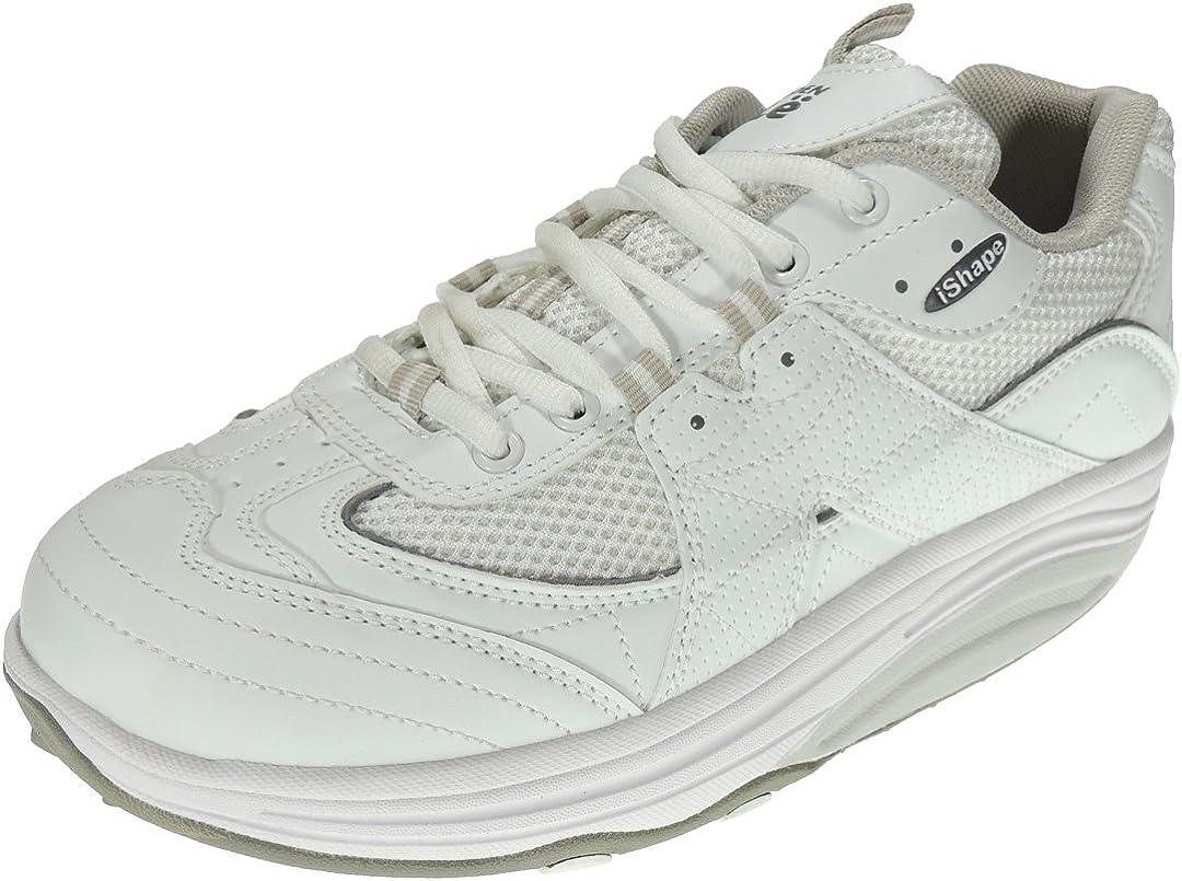 Sweden 602217 Zapatilla Deportiva iShape con Piso Balancín para Hombre y Mujer: Amazon.es: Zapatos y complementos