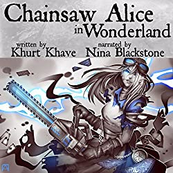 Chainsaw Alice in Wonderland