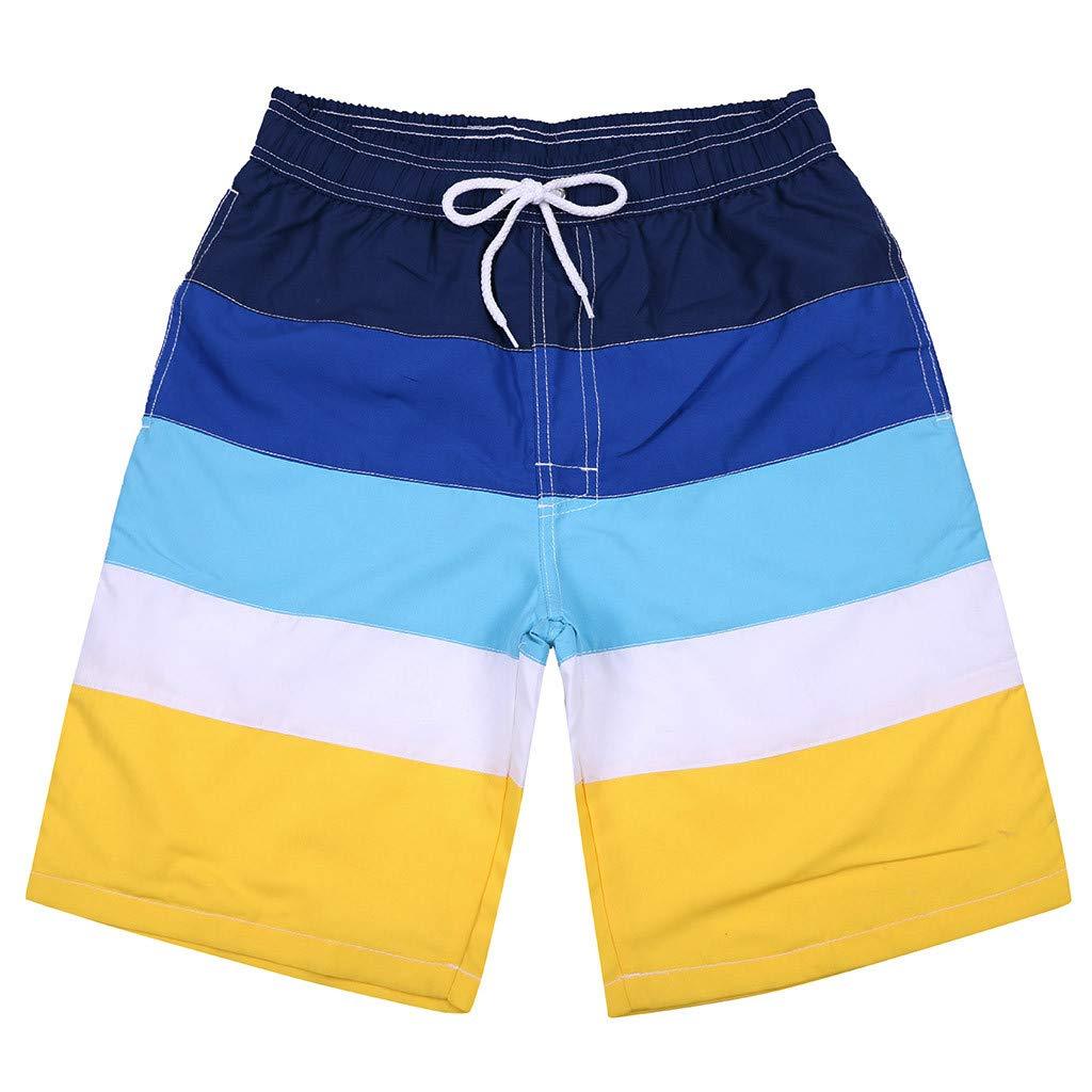 Beach Shorts Linen, Ocean Pacific Shorts for Men,Running Shorts,Men's Shorts Swim Trunks Quick Dry Beach Surfing Running Swimming Watershort