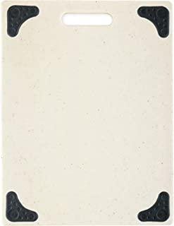 product image for Dexas Grippboard Feet cutting board, 11 by 14.5 inches, Oatmeal Granite with Non-Slip Black Corners