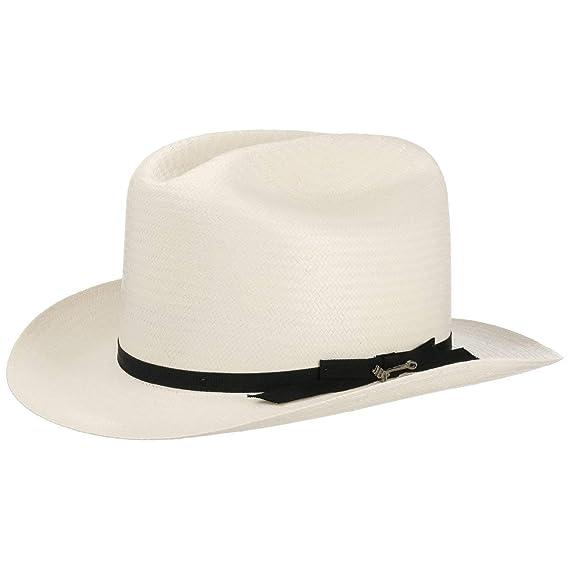 Stetson Open Road 6X Western Straw Hat Summer Rodeo (56 cm - Cream White) 9f64d668160