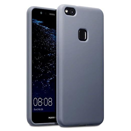 3 opinioni per Terrapin TPU Gel Custodia per Huawei P10 Lite Cover, Colore: Opaco Grigio