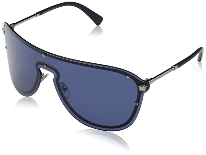 Amazon.com: Versace - Gafas de sol para mujer, Plateado ...