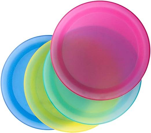 Amazon.com: Vasos de plástico reutilizables, platos, copas ...