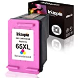 Inktopia Remanufactured Replacement for HP 65 65xl Ink Cartridge with Updated Chip Used on HP Envy 5055 5052 Deskjet…