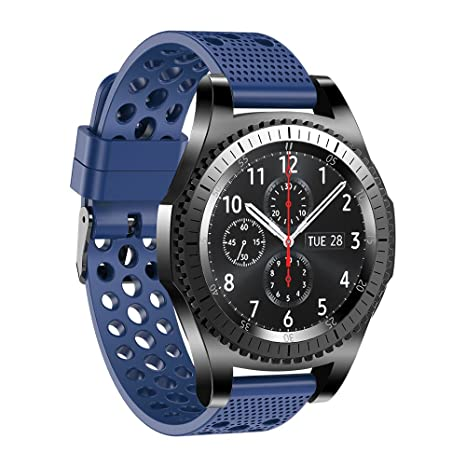 Fit-power. Correa de reloj de silicona para Samsung Gear S3 ...