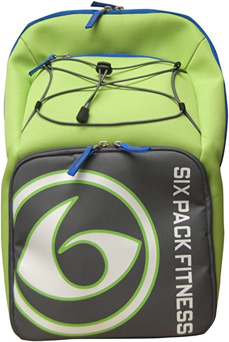 6 Pack Fitness Prodigy Backpack 500 Lime/Gray/Blue: Amazon.es: Ropa y accesorios