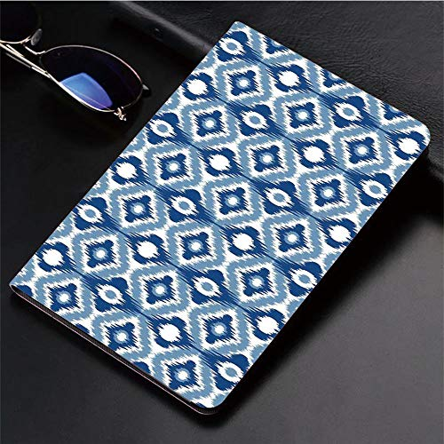 (Compatible with iPad 2/3/4 Case,Regular Multi Shaft Loom Uneven Twill Trend Motif,Slim Anti-Scratch Shell Auto Sleep/Wake,3D Printed Protection Apple iPad 9.7