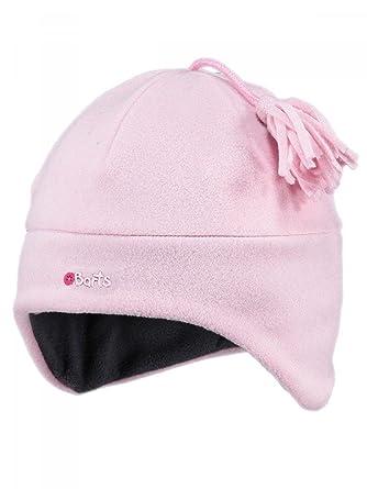 Barts-Bonnet en Polaire Enfant Fille Rose Tendre du 4 au 10 Ans  Amazon.fr   Vêtements et accessoires 34a1a9169df
