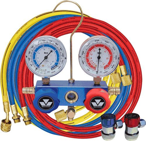 R134A Auto A/C 2-Way Manifold Gauge Set
