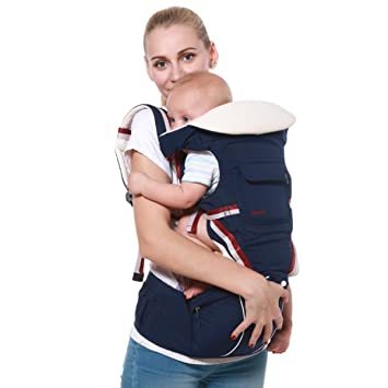 Ergonomic Baby Carrier Backpack Adjustable Baby Toddler Sling With Hipseat Infant Kangaroo Bag Prevent O-type Legs Carrier Wrap Backpacks & Carriers Mother & Kids