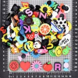 SHINQEAR 125pcs PVC Shoe Charms Decorations for