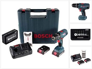 Bosch GSR 18V-21 - Taladro atornillador (18 V, 13 mm, 55 Nm ...