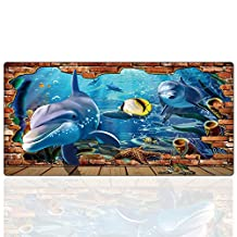 Cmhoo XXL Gaming Mouse Mat Extended & Extra Large Mouse Pad (80x40 shayu)