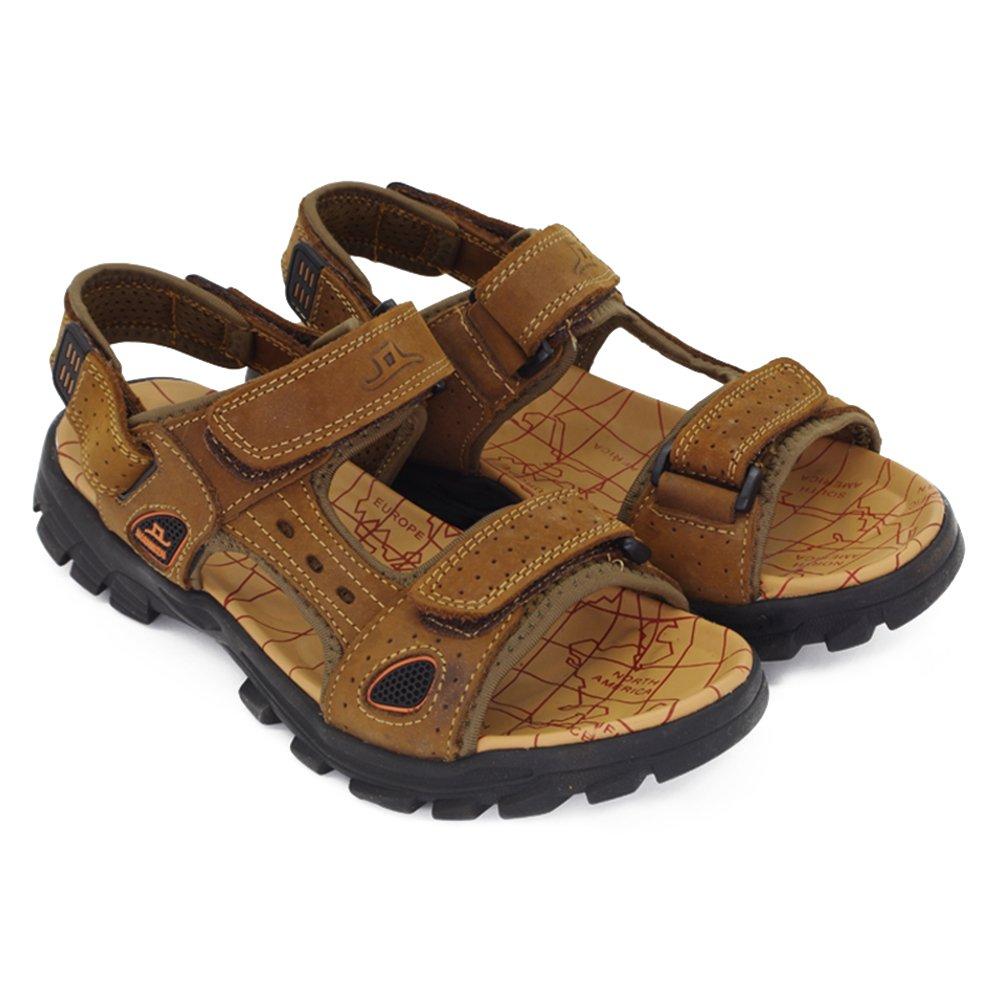 Schuhe Herren Sport Outdoorschuhe Outdoorsandalen Damen Hausschuhe Slipper Mokassins Dusch Badeschuhe (44.5 EU, Braun)