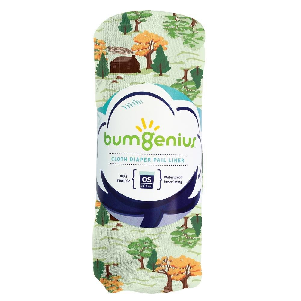 26 x 30 Fits Most Pails bumGenius Reusable Diaper Pail Liner Clementine