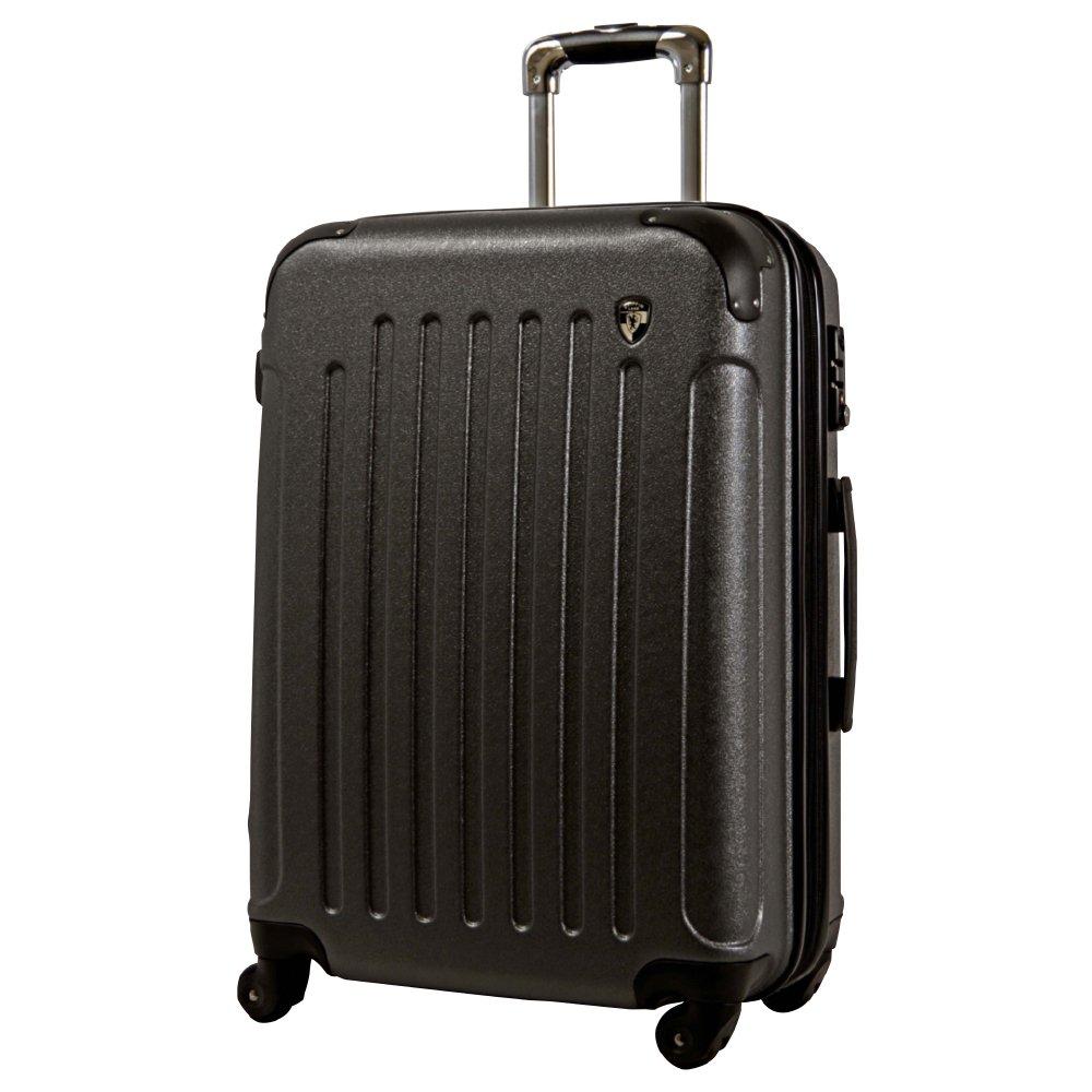 [グリフィンランド]_Griffinland TSAロック搭載 スーツケース 超軽量 マット加工 newFK10371 ファスナー開閉式 B078BX7XD2 LM型 +【名前刻印】|グレー グレー LM型 +【名前刻印】