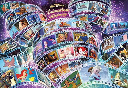 Tenyo Walt Disney Animation History Jigsaw Puzzle (1000 Piece) (Donald Duck Puzzles 1000 Piece compare prices)