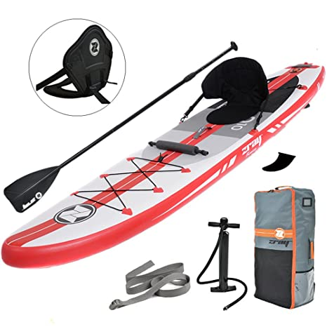 Zray Paddle Board - Tabla Hinchable para pádel de Caballete de 2 ...